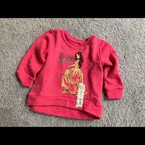 Beauty and the beast belle sweatshirt